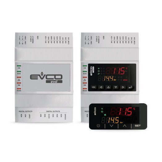 Дисплей EV3K01XOCT для контроллеров