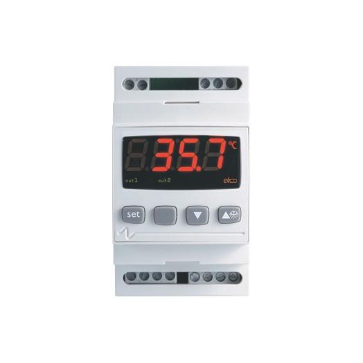 Двухступенчатый цифровой терморегулятор EV6412M3
