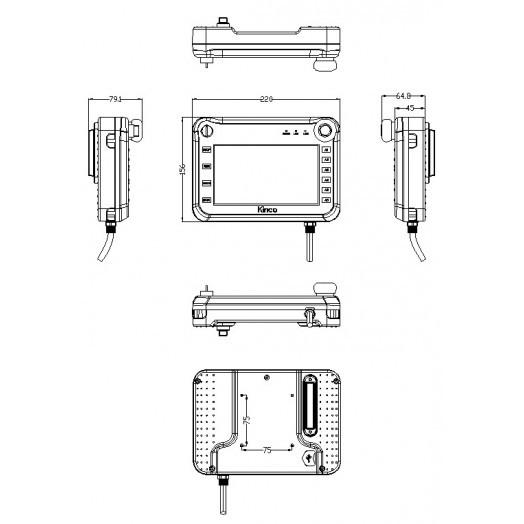 Панель оператора SZ7 Kinco
