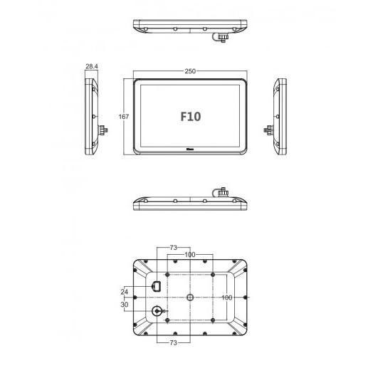 Панель оператора F10 Kinco