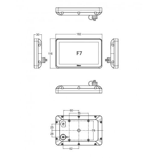 Панель оператора F7 Kinco