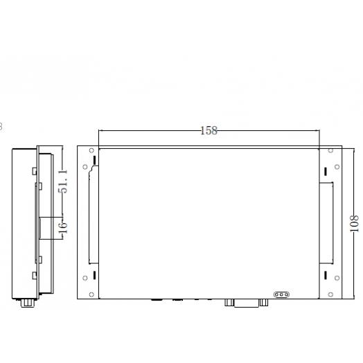 Панель оператора MT4100ER Kinco